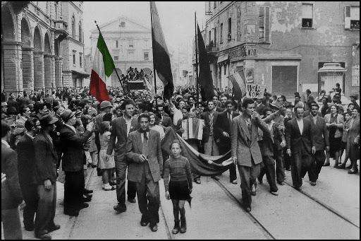 25 aprile, festa della Liberazione.